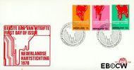 Nederland NL E108  1970 Hartstichting  cent  FDC zonder adres