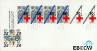 Nederland NL E211a  1983 Rode Kruis- doelstellingen  cent  FDC zonder adres
