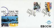 Nederland NL E275  1990 Scheepvaart  cent  FDC zonder adres