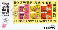 Nederland NL E357a  1996 Kind en boeken  cent  FDC zonder adres