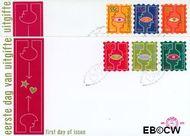 Nederland NL E375  1997 Kerstgedachten  cent  FDC zonder adres