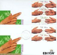 Nederland NL E414  2000 Gefeliciteerd  cent  FDC zonder adres