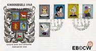 Nederland NL E46  1960 Klederdrachten   cent  FDC zonder adres