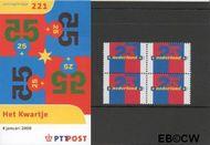 Nederland NL M221  2000 Kwartje  cent  Postfris