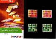 Nederland NL M294  2004 Zakelijke postzegels  cent  Postfris