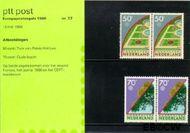 Nederland NL M37  1986 C.E.P.T.- Natuur en milieu  cent  Postfris