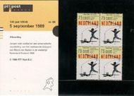 Nederland NL M68  1989 Voetbalbond  cent  Postfris