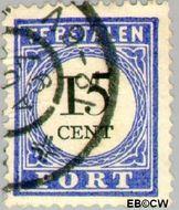 Nederland NL P24  1894 Portzegel 15 cent  Gestempeld