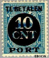 Nederland NL P67  1924 Portzegel 10 op 1½ cent  Gestempeld