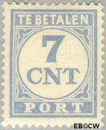 Nederland NL P71  1921 Portzegel 7 cent  Gestempeld
