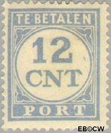 Nederland NL P76  1921 Portzegel 12 cent  Gestempeld