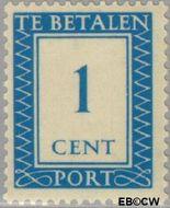 Nederland NL P80  1947 Portzegel 1 cent  Gestempeld