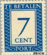 Nederland NL P85  1947 Portzegel 7 cent  Gestempeld