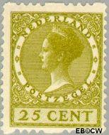 Nederland NL R14  1925 Type 'Veth' 25 cent  Gestempeld