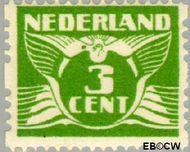 Nederland NL R4  1925 Type 'Lebeau' 3 cent  Gestempeld