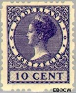 Nederland NL R45  1928 Type 'Veth' 10 cent  Gestempeld