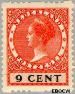 Nederland NL R9  1925 Type 'Veth' 9 cent  Gestempeld