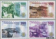 Nederlandse Antillen NA 1593#1596  2005 Sociale en culturele zorg  cent  Postfris