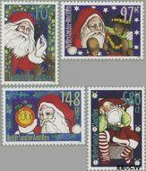 Nederlandse Antillen NA 1621#1624  2005 Kerstman 335 cent  Postfris