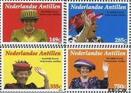 Nederlandse Antillen NA 1700a#1700d  2006 Koninklijk Bezoek  cent  Postfris