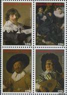 Nederlandse Antillen NA 1774#1777  2007 Frans Hals 375 cent  Postfris