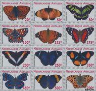 Nederlandse Antillen NA 2000#2011  2010 Vlinders 6 cent  Postfris