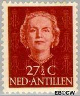 Nederlandse Antillen NA 227  1950 Type 'En Face'  27½ cent  Gestempeld