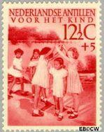 Nederlandse Antillen NA 237  1951 Kinderspelen  12½+5 cent  Gestempeld