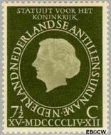 Nederlandse Antillen NA 247  1954 Koninkrijks Statuut 7½ cent  Gestempeld