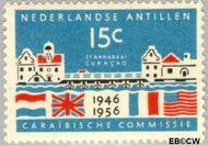 Nederlandse Antillen NA 257  1956 Caraïbische Commissie 15 cent  Gestempeld