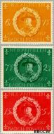 Nederlandse Antillen NA 258#260  1957 Padvinderij  cent  Gestempeld