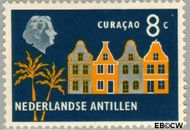 Nederlandse Antillen NA 277  1959 Landschappen 8 cent  Gestempeld