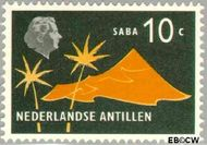 Nederlandse Antillen NA 278  1958 Landschappen 25 cent  Postfris
