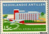 Nederlandse Antillen NA 297  1959 Opening hotel 15 cent  Gestempeld