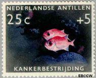 Nederlandse Antillen NA 317  1960 Kankerbestrijding 25+5 cent  Gestempeld