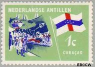 Nederlandse Antillen NA 358  1965 Eilanden 1 cent  Gestempeld