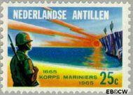 Nederlandse Antillen NA 368  1965 Korps Mariniers  cent  Gestempeld