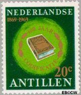 Nederlandse Antillen NA 408  1969 Codificatie 20 cent  Gestempeld