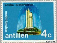 Nederlandse Antillen NA 448  1972 Eilanden 4 cent  Gestempeld