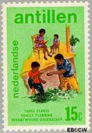 Nederlandse Antillen NA 488  1974 Verantwoord Ouderschap 15 cent  Gestempeld