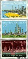 Nederlandse Antillen NA 492#494  1974 Olie-industrie  cent  Gestempeld