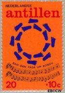 Nederlandse Antillen NA 498  1974 Kinderliedjes 20+10 cent  Gestempeld