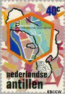Nederlandse Antillen NA 508  1975 Zoutindustrie 40 cent  Gestempeld