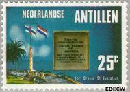 Nederlandse Antillen NA 528  1976 Onafhankelijkheid U.S.A. 25 cent  Gestempeld