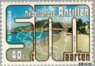 Nederlandse Antillen NA 558  1977 Toerisme 40 cent  Gestempeld