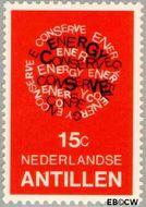Nederlandse Antillen NA 588  1978 Energiebesparing 15 cent  Gestempeld