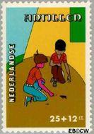 Nederlandse Antillen NA 598  1978 Kind en vrije tijd 25+12 cent  Gestempeld