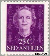 Nederlandse Antillen NA 608  1979 Type 'En Face' met diadeem 25 cent  Gestempeld