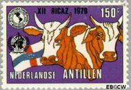 Nederlandse Antillen NA 623  1979 Vergadering P.A.H.O. 150 cent  Gestempeld