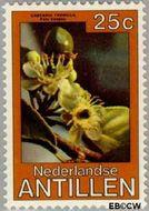 Nederlandse Antillen NA 633  1979 Bloemen 25 cent  Gestempeld